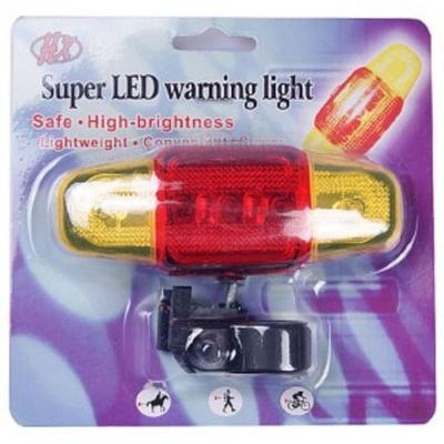 자전거 후미등 후방 안전 점멸기 LED 램프 경고등