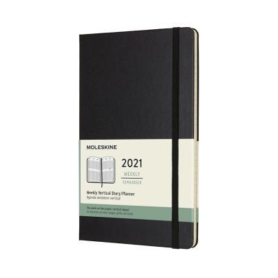 몰스킨 2021위클리(세로형)/블랙 하드 L