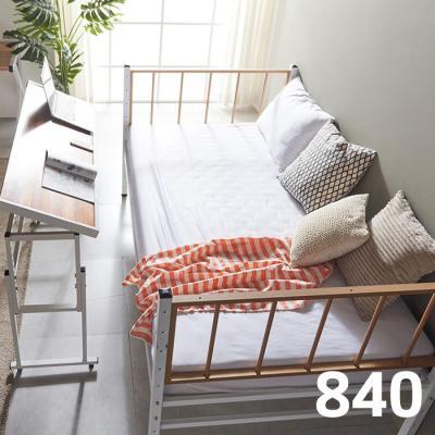 내방에 딱 철제 슈퍼싱글침대 +각도조절 테이블 840