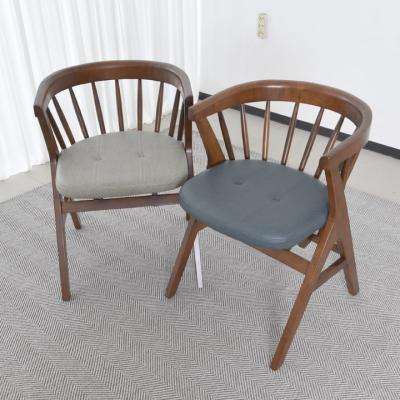 N4122 1인 원목 의자 2colors