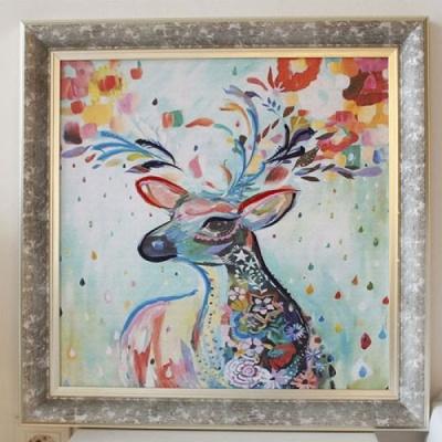 [2HOT] 사슴 그림 액자 (849)