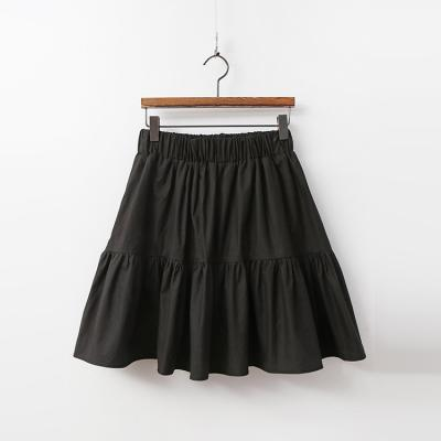 Cotton Cancan Mini Skirt