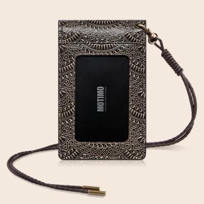 [남성 목걸이형 카드.명함지갑]모나(썬)_통가죽