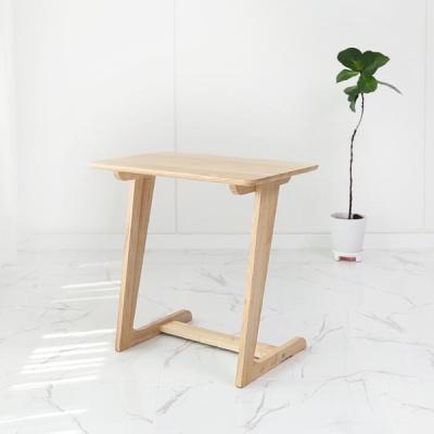 벤트리 원목 라운디시 소파 사이드 테이블 600