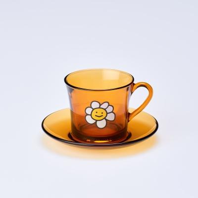 [슬로마일] 플라워 커피 머그 세트