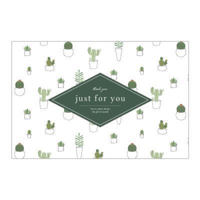 왈가닥스 메세지 포스트카드 엽서 - cactus