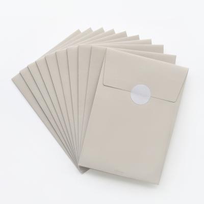 베이지브라운 엽서봉투