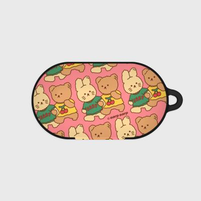 nini friends-pink(Buds hard case)