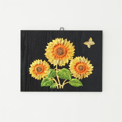 (kdyg023)해바라기와 나비 그림액자 (40X30)