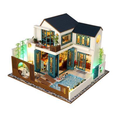 DIY 미니어처하우스 대나무 별장