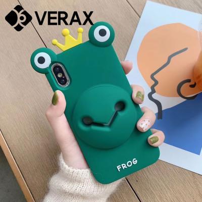 P235 아이폰11 캐릭터 소리증폭 실리콘 케이스