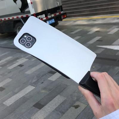 아이폰11 PRO SE2 XR X MAX 인싸 식칼 실리콘 케이스