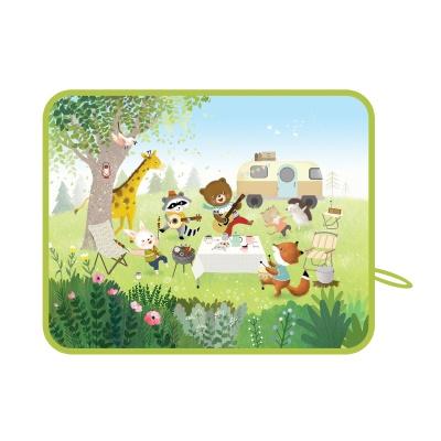 [하쥬르] 차량용 자석  햇빛가리개_숲속캠핑
