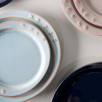 바체 타원 접시 중 4color