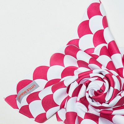 [리틀스칸디] 프리미엄 유아목욕타월_ 유모차담요 등 다용도 활용_ 핑크 샹들리에 Pink Chandelier