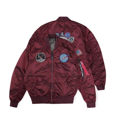 알파인더스트리 MA-1 아폴로 배틀워시 COMMANDER RED