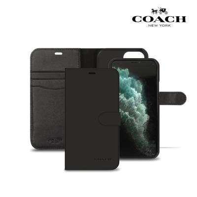 코치 레더 폴리오 케이스 아이폰11 프로용