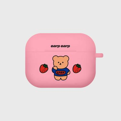 strawberry bear-pink(Air pods pro case)