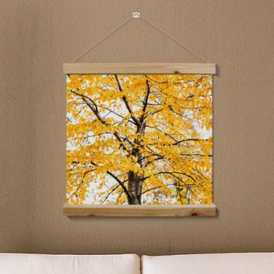 ah313-우드스크롤_60CmX60Cm-노란단풍나무