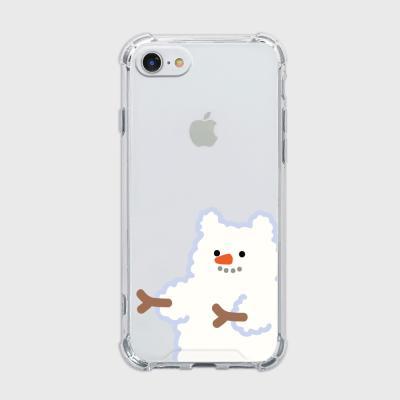 snow fluffy gummy [탱크투명 폰케이스]