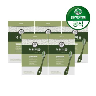 [유한양행]닥터버들 이중미세모 칫솔 6입 5개