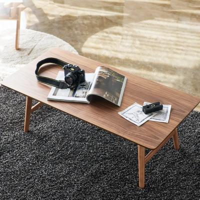 히토리 월넛라인 스퀘어 접이식 테이블