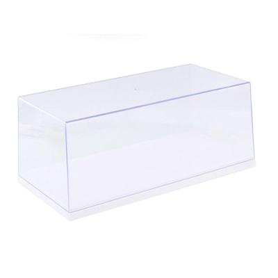 1/18클리어플라스틱 디스플레이케이스 화이트KC510009