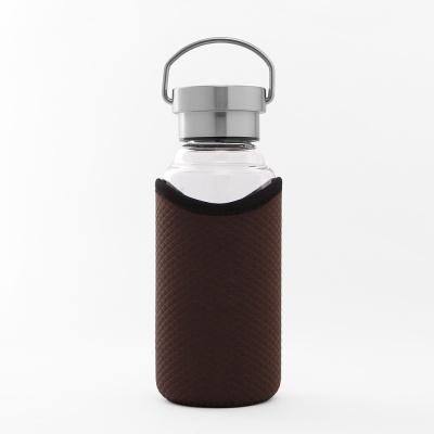 [로하티]브라이트 유리 물병 420ml/ 내열유리 보틀