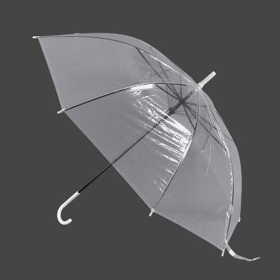 반자동 비닐우산/시야확보 투명우산 판촉우산