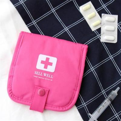 아기 약파우치 어린이집준비물 핑크