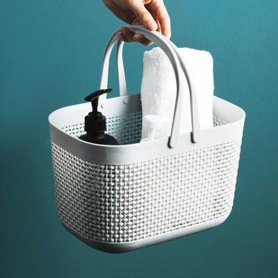 플라스틱 물빠지는 목욕 욕실 수영장 가방 바구니
