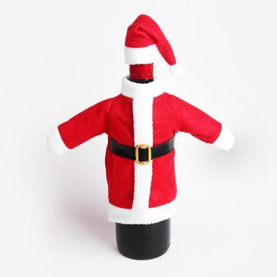 크리스마스 산타 와인 데코