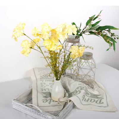 고속터미널꽃시장 산수국 조화 60cm 시들지않는꽃