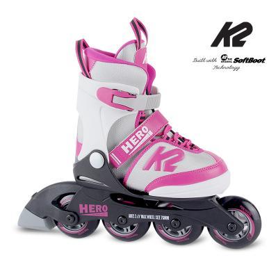 K2 히어로 걸 프리미엄 아동용 인라인스케이트