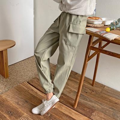 Spring Cargo Jogger Pants