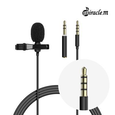 녹음용 핀마이크 ASMR 미라클엠 M31-A 3.5mm단자용