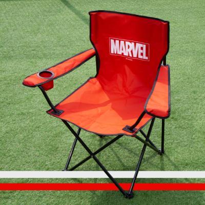 마블 접이식 경량 캠핑 의자 낚시 체어 마블로고