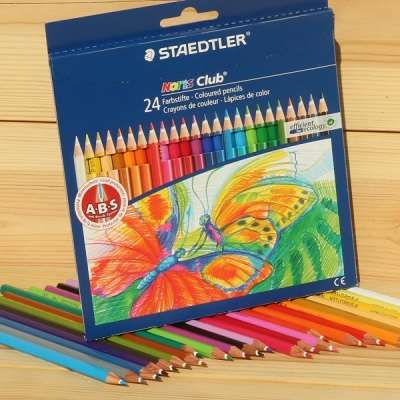 24색 색연필..스테들러 Noris Club 144 NC24