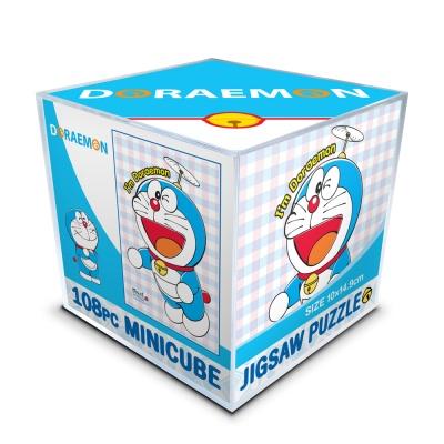 도라에몽 미니큐브 직소퍼즐(미니108피스/PL108-66)