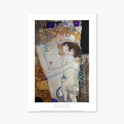 명화 포스터 액자 027 Gustav Klimt Die drei Lebensalter der Frau