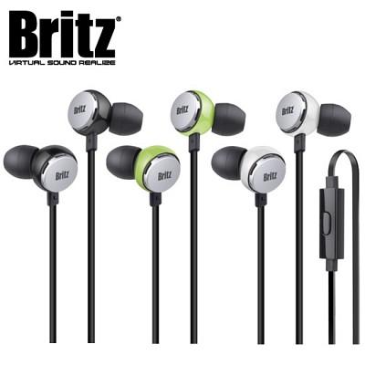 브리츠 커널형 이어폰 P293 (통화+음악 / 마이크 탑재 / 꼬임 방지 케이블 / 10mm 네오디뮴 유닛)