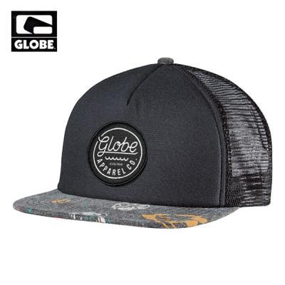 [GLOBE] EXPEDITION TRUCKER CAP (BLACK FLOWERS)