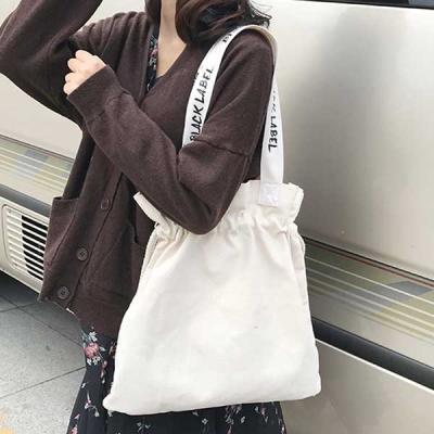 파우더 블랙라벨 복조리 에코백 천가방