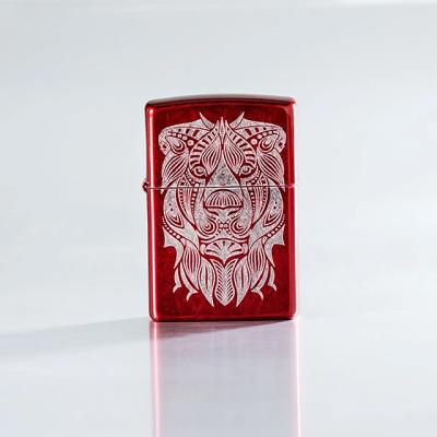 ZIPPO 49109 Lion Tattoo Design
