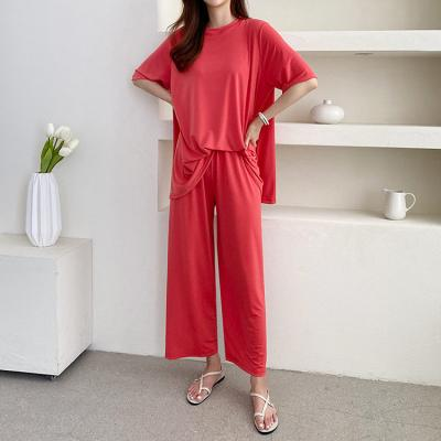 [Set] Cool Flare Tee + Easy Pants