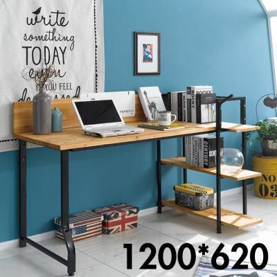 재택근무 원격수업 필수템 원목 H형 책상 3단 1460
