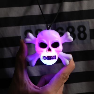 LED 할로윈 목걸이 (해골)