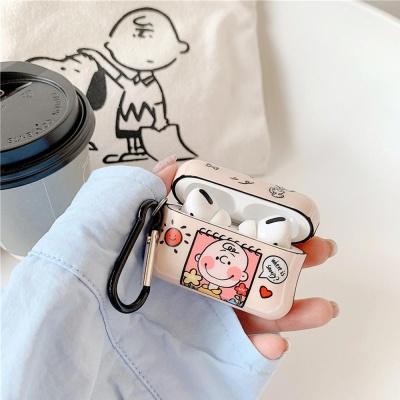 에어팟케이스 1/2/PRO 강아지 소년 유광 슬림 실리콘