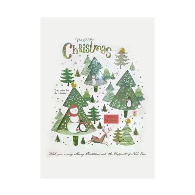 x-mas 크리스마스 숲 FS201-4