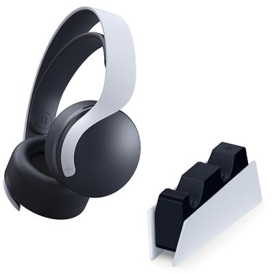PS5 PULSE 3D 무선 헤드셋 + 듀얼센스 충전거치대